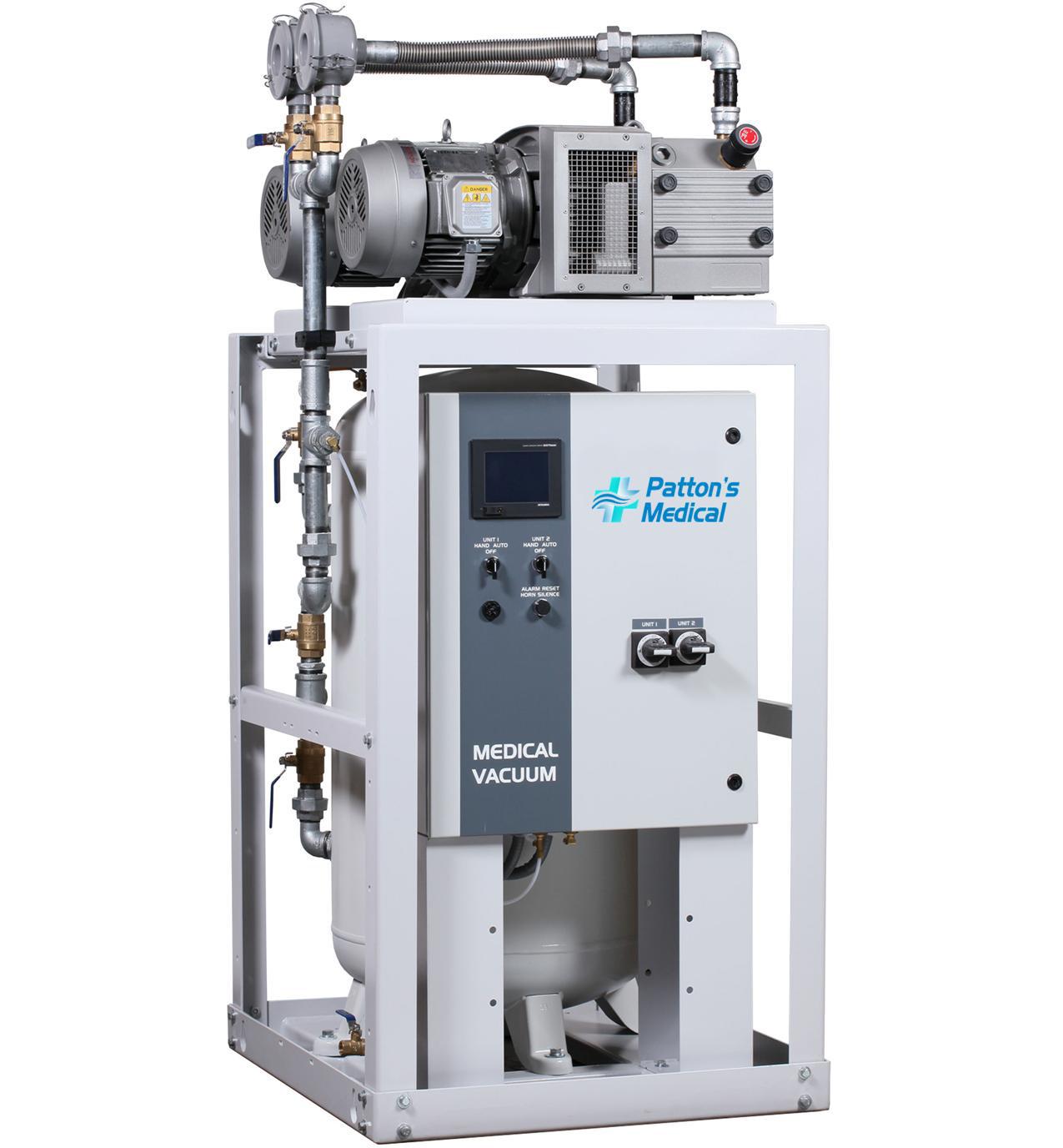 oil-less rotary vane vacuum pump
